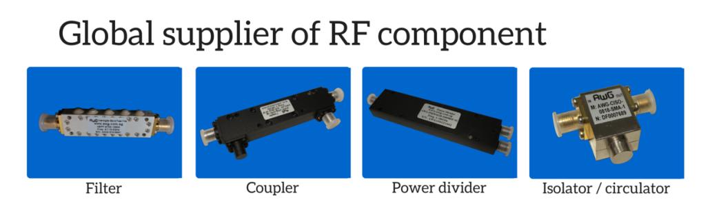 passive RF component company