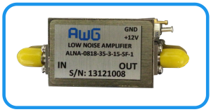 Low noise amplifier 8-18 GHz