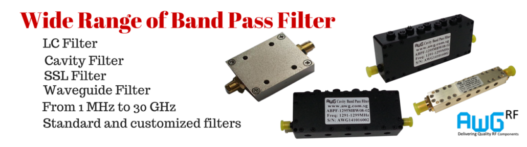 RF & MW Band Pass Filter Manufacturer
