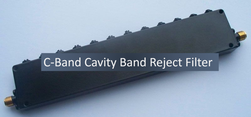 C-Band Cavity band stop filter