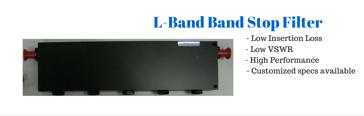 L-Bnad Cavity Band stop filter
