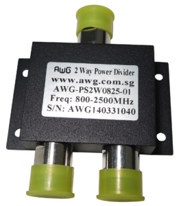 2 way 800-2700MHz power spliter
