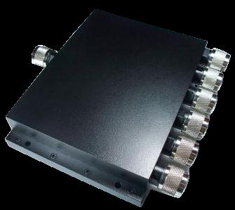 6 way power divider splitter combiner