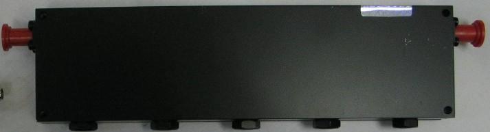 UHF-Band Bandstop cavity filter