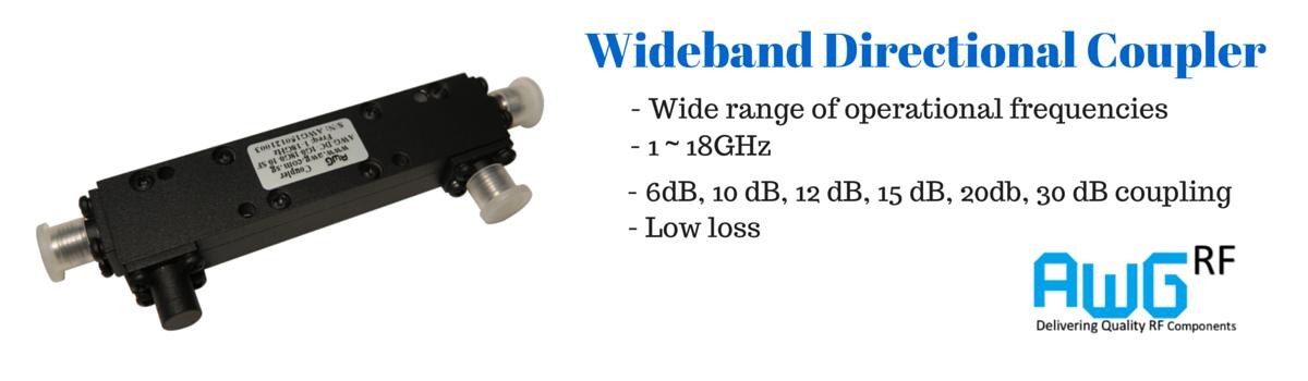 wideband directional coupler